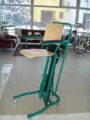 EL. ZDVÍHACIA stolička na kolieskach